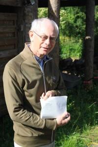 Herman Van Rompuy met zijn nachtvlinderhaiku