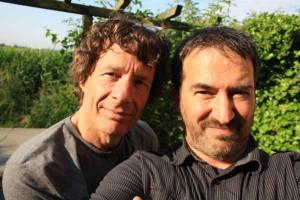 Bart Van Camp (rechts) en Dirk Draulans (links)