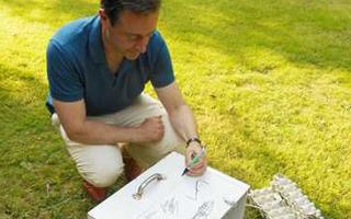 In de tuin van Bart De Wever: een groene oase vol buxusmotten