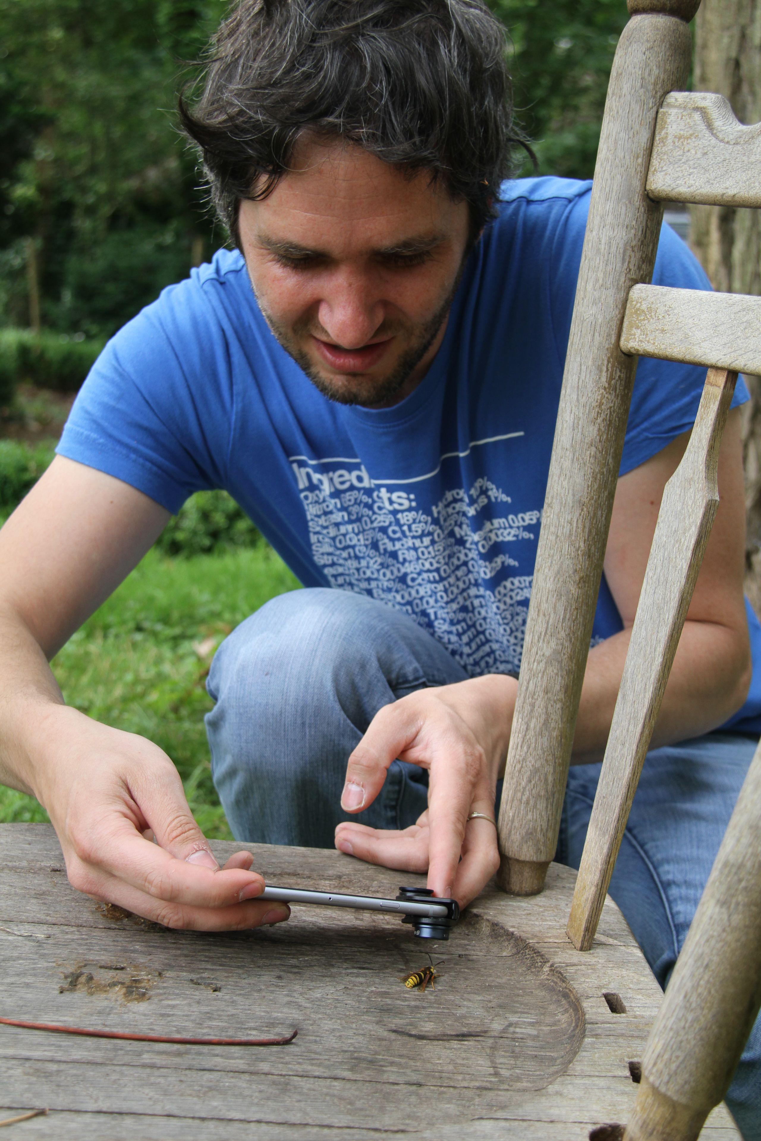 In de tuin van Lieven Scheire: aan de slag met feromonen