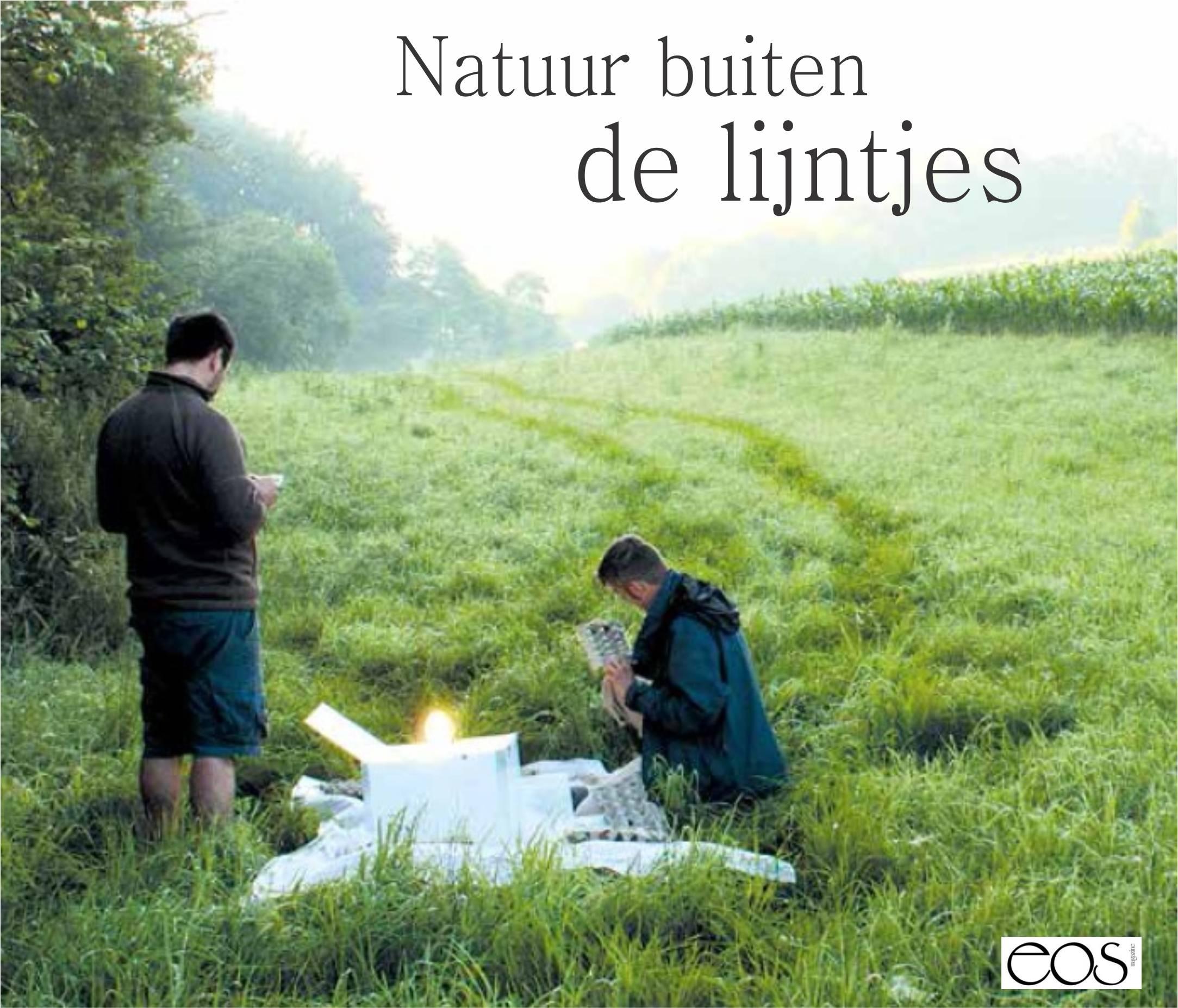 """Artikel EOS-magazine mei 2015: """"Natuur buiten de lijntjes"""""""