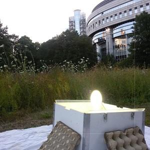 Koninklijk Belgisch Instituut voor Natuurwetenschappen, op 50 m van het Europees Parlement in hartje Brussel.